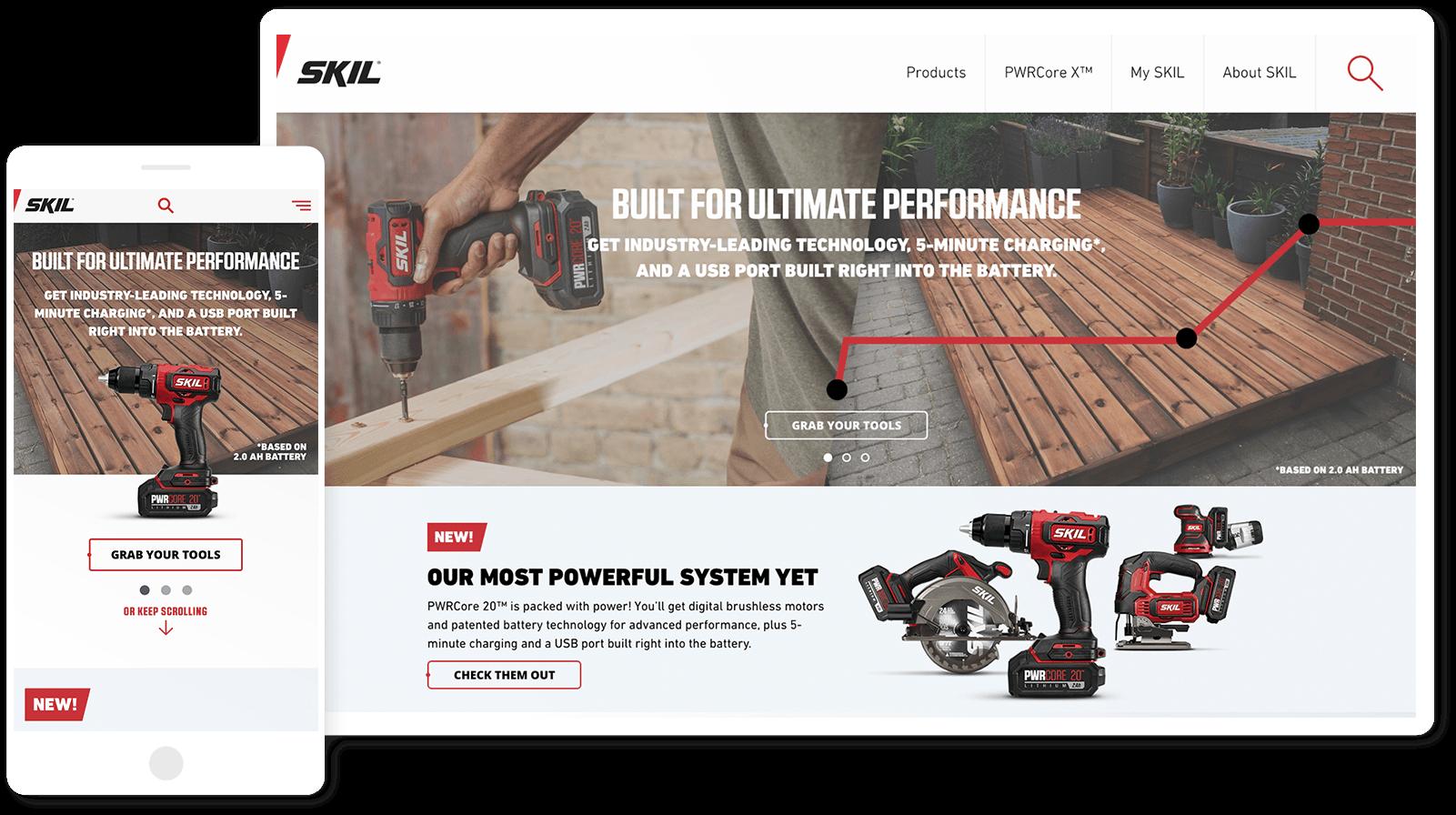 Skil Website